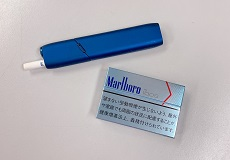 禁煙についてと紙巻きタバコと加熱式タバコ