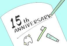 ブログ初めて、15周年になりました!
