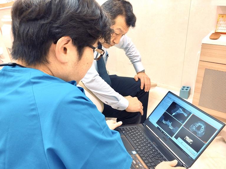 コンピューターシュミレーションにて徹底した術前診断